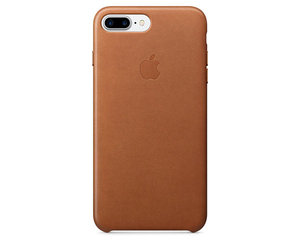 Чехол-накладка для iPhone 7 Plus/8 Plus - Apple Leather Case - Saddle Brown (MMYF2)