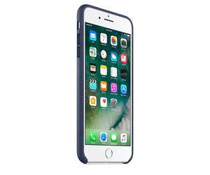 Чехол-накладка для iPhone 7 Plus/8 Plus - Apple Leather Case - Midnight Blue (MMYG2) - фото 1