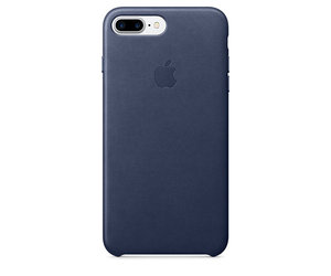 Чехол-накладка для iPhone 7 Plus/8 Plus - Apple Leather Case - Midnight Blue (MMYG2) - фото 0