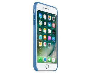 Чехол-накладка для iPhone 7 Plus/8 Plus - Apple Leather Case - Sea Blue (MMYH2) - фото 1