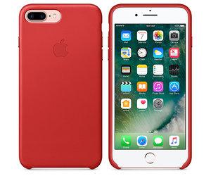 Чехол-накладка для iPhone 7 Plus/8 Plus - Apple Leather Case - Product(Red) (MMYK2) - фото 5