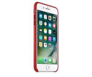 Чехол-накладка для iPhone 7 Plus/8 Plus - Apple Leather Case - Product(Red) (MMYK2) - фото 1