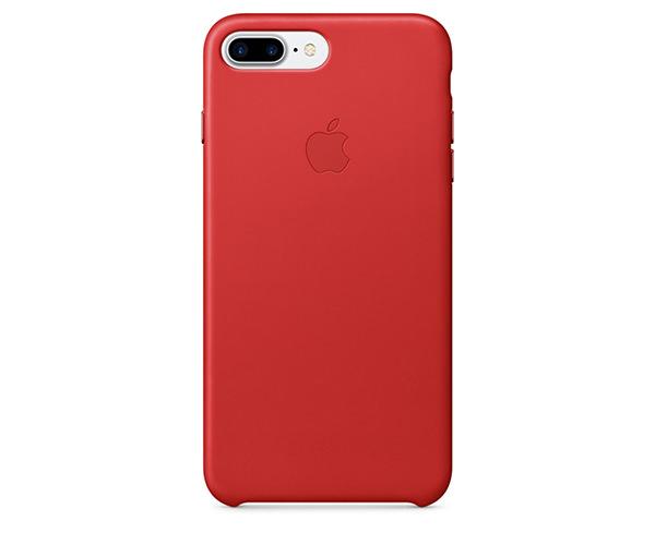 Чехол-накладка для iPhone 7 Plus/8 Plus - Apple Leather Case - Product(Red) (MMYK2)