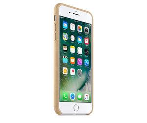 Чехол-накладка для iPhone 7 Plus/8 Plus - Apple Leather Case - Tan (MMYL2) - фото 1