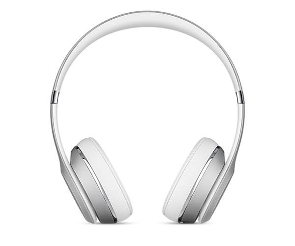 Беспроводные накладные наушники Beats by Dr.Dre Solo 3 Wireless - Silver (MNEQ2)