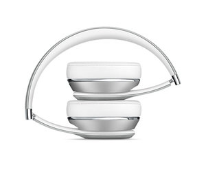 Беспроводные накладные наушники Beats by Dr.Dre Solo 3 Wireless - Silver (MNEQ2) - фото 4
