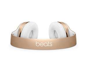 Беспроводные накладные наушники Beats by Dr.Dre Solo 3 Wireless - Gold (MNER2) - фото 3