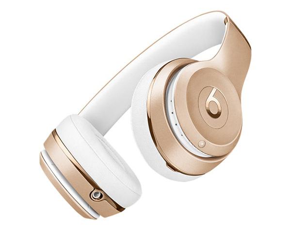 Беспроводные накладные наушники Beats by Dr.Dre Solo 3 Wireless - Gold (MNER2)