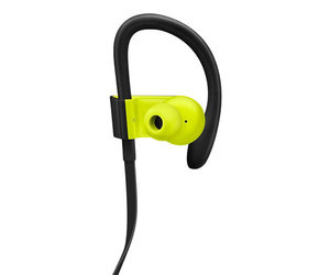 Беспроводные наушники Beats Powerbeats3 Wireless Earphones - Shock Yellow (MNN02) - фото 1