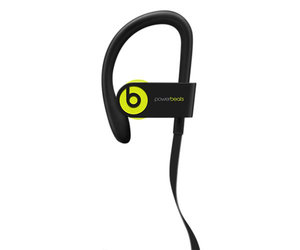 Беспроводные наушники Beats Powerbeats3 Wireless Earphones - Shock Yellow (MNN02) - фото 2