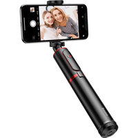 Монопод Selfie Stick Baseus Fully Folding (black/red)(SUDYZP-D19)