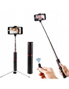 Монопод Selfie Stick Baseus Fully Folding (black/red)(SUDYZP-D19) - фото 1