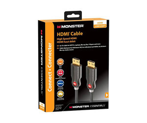 Кабель Monster Essentials High Performance HDMI Cables - 1.5 м (MNO-122450-00) - фото 1