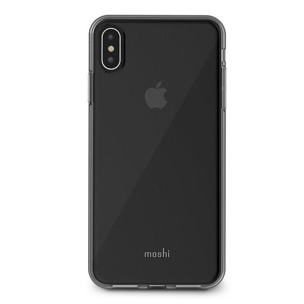 Чехол-накладка для iPhone Xs Max - Moshi Vitros Slim Clear Case - Crystal Clear (99MO103905)