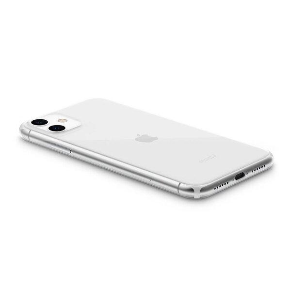 Чехол-накладка для iPhone 11 - Moshi SuperSkin Ultra Thin Case - Crystal Clear (99MO111909)