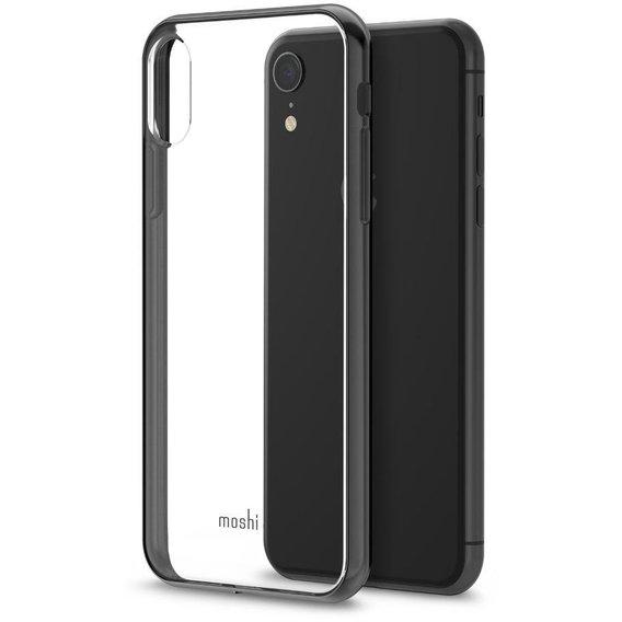 Чехол-накладка Moshi Vitros Slim Clear Case Raven Black for iPhone XR (99MO103034)
