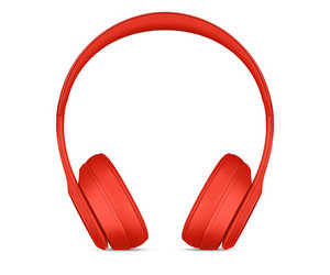 Беспроводные накладные наушники Beats by Dr.Dre Solo 3 Wireless - (PRODUCT)Red (MP162) - фото 1