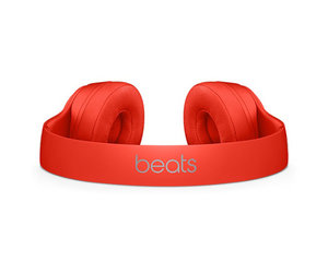 Беспроводные накладные наушники Beats by Dr.Dre Solo 3 Wireless - (PRODUCT)Red (MP162) - фото 4