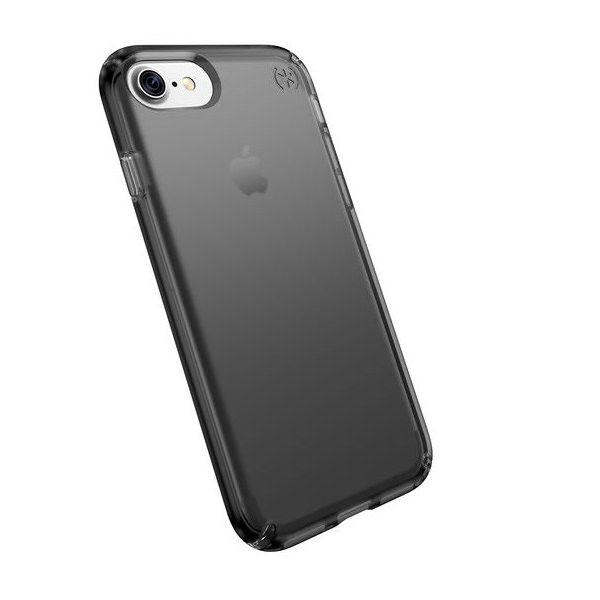 Чехол-накладка для iPhone 7/8/SE - Speck Presidio - Clear/Onyx Black Matte (SP-79988-5747)