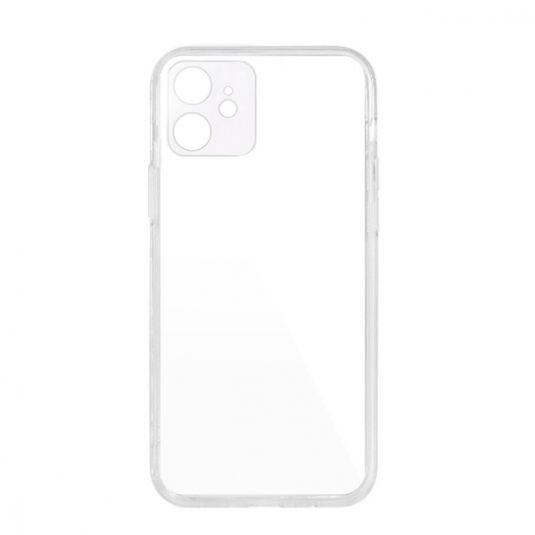 Чехол-накладка для iPhone 12 - Baseus Simple Camera Protection - Transparent