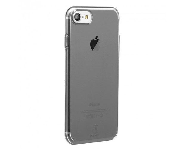 Чехол-накладка для iPhone 7/8/SE - Baseus Simple Series - Black