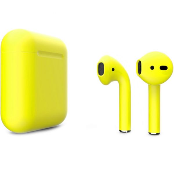 Беспроводные наушники Apple AirPods with Wireless Charging Case Color AirPods 2 (MRXJ2) - Mate Buttercup