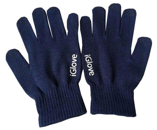 Перчатки для сенсорных экранов Touch iGlove - Dark Blue