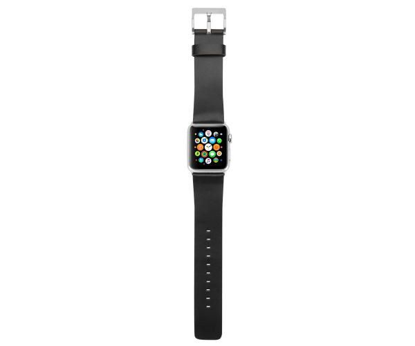 Ремешок Incase Leather Band для Apple Watch 38mm - Black (INAW10010-BLK)