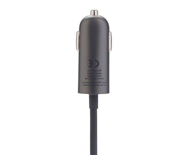 Автомобильное зарядное устройство Incase Mini Car Charger with Lightning cable - Charcoal (EC20145)