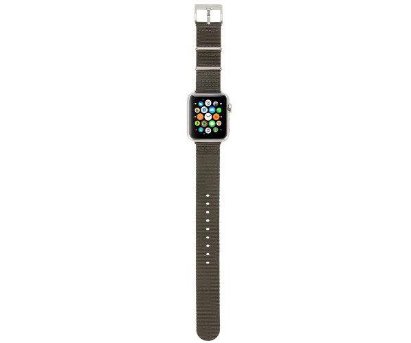 Ремешок Incase Nylon Nato Band для Apple Watch 38mm - Anthracite (INAW10011-ANT)