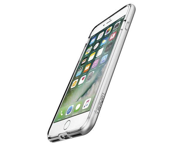 Чехол-накладка для  iPhone 7 Plus/8 Plus - Spigen Neo Hybrid Crystal - Satin Silver (SGP-043CS20684)