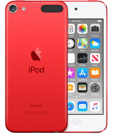 Apple iPodtouch 7Gen 128GB (PRODUCT)RED (MVJ72)