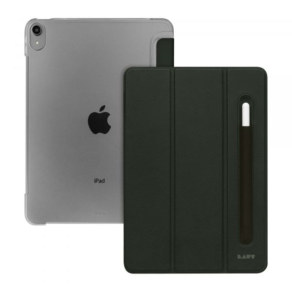 "Чехол-книжка для iPad Air 10.9"" (2020) - LAUT HUEX FOLIO Smart Case - Military Green (L_IPD20_HP_MG)"