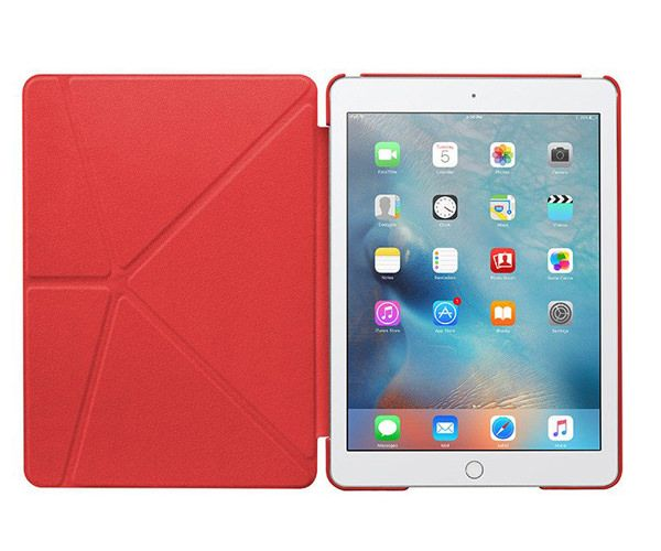 Чехол-подставка для iPad Pro 9.7 - LAUT Trifolio - Red (LAUT_IPP9_TF_R)