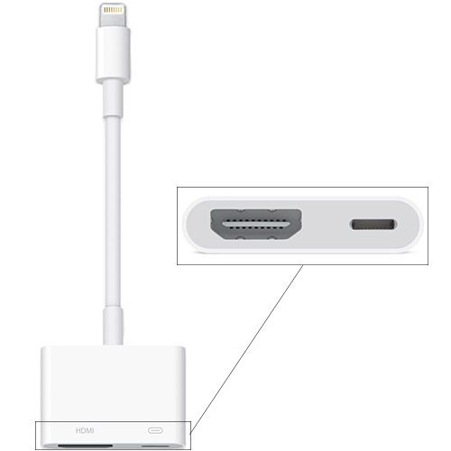 Адаптер Apple Lightning to Digital AV (MD826)