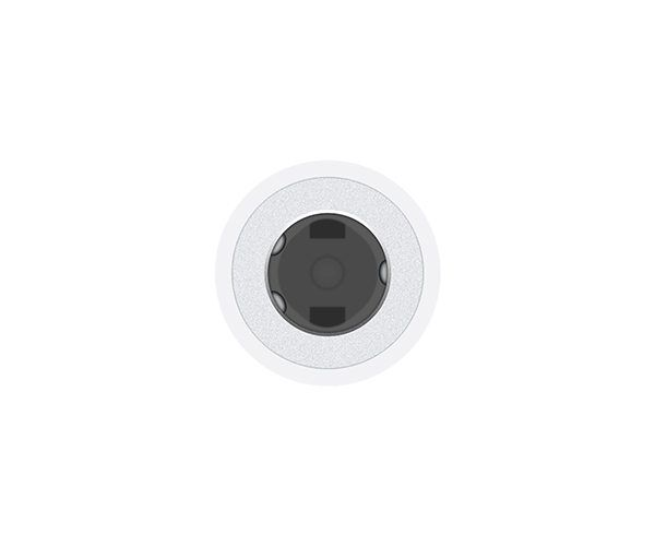 Адаптер Apple Lightning to 3.5 mm Headphone Jack (MMX62)