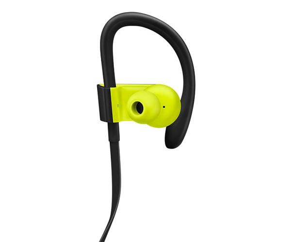 Беспроводные наушники Beats Powerbeats3 Wireless Earphones - Shock Yellow (MNN02)