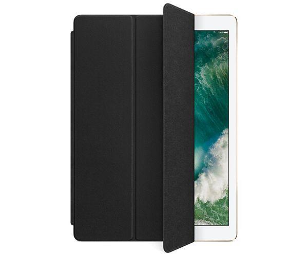 Чехол-подставка для iPad Pro 12.9 - Apple Leather Smart Cover - Black (MPV62)