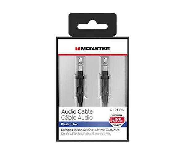 Кабель Monster Mobile Audio Cable 1.2 m - Black (MNO-133012-00)