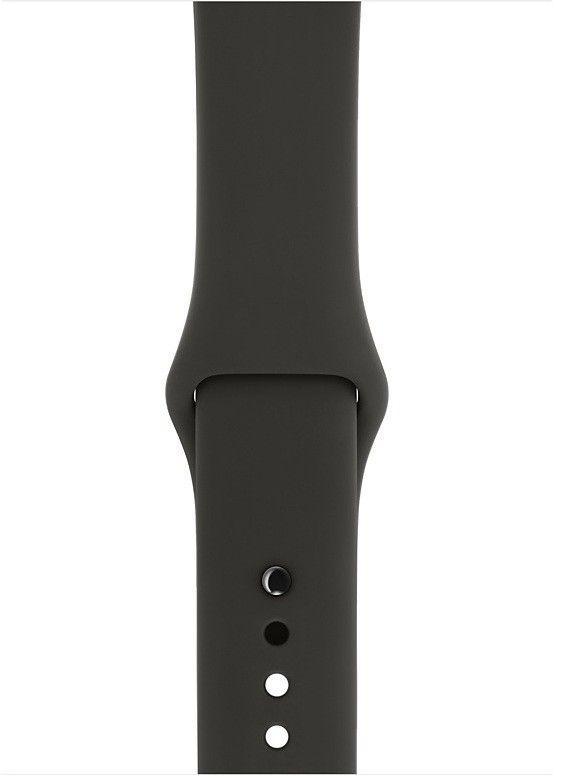 Ремешок Apple Watch 38/40mm Sport Band (S/M & M/L) Dark Grey
