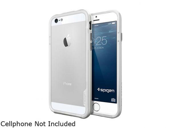 Чехол-бампер для iPhone 6/6s - SGP Neo Hybrid EX - Satin Silver (SGP11026)