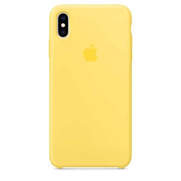 Чехол-накладка для iPhone Xr - Silicone Case OEM - Canary Yellow