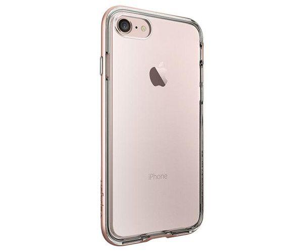 Чехол-накладка для  iPhone 7/8/SE - Spigen Neo Hybrid Crystal - Rose Gold (SGP-042CS20524)