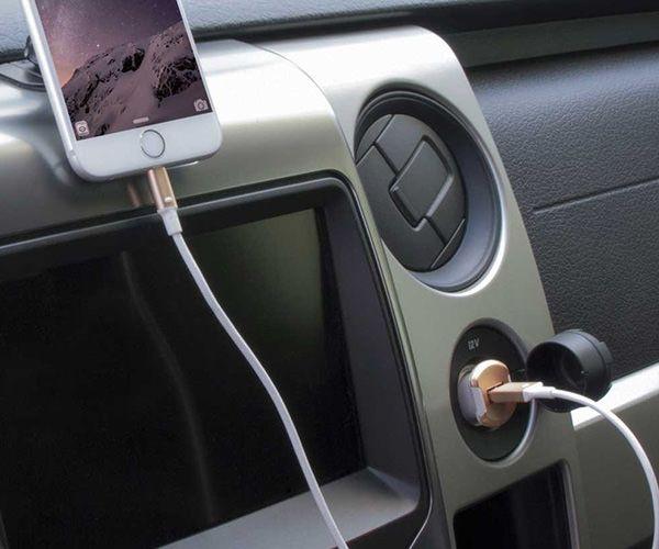 Автомобильное зарядное устройство Scosche ReVolt 10W - Gold (USBC121MGD)